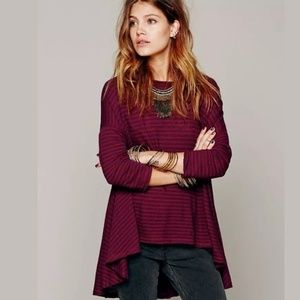 We the Free People Circle in the Sand Trapeze Top